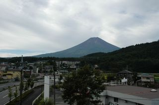 ホテルから富士山!