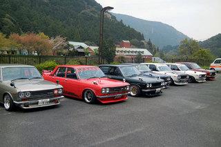 6th SHIKOKU DATSUN510 MEET