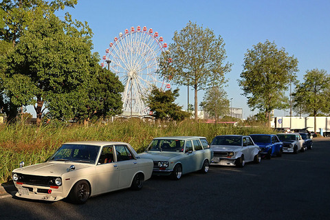 All Japan Datsun 510 Meet 2018