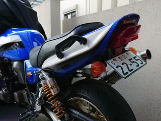 ZRX1200Rフェンダーレス