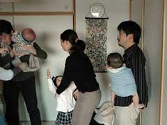 男の抱っこ教室
